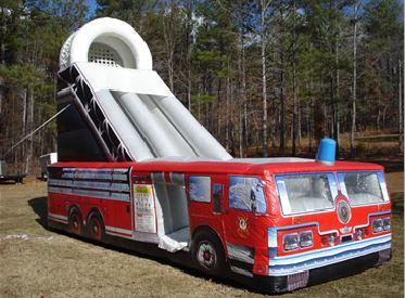 SLIDE - 18 Ft Fire Truck Slide #2