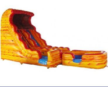 SLIDE - 17 Ft Volcano Water Slide #01