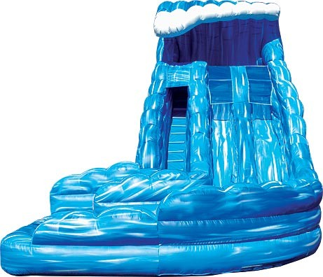 SLIDE W/O - 18 Ft Tidal Wave Water Slide