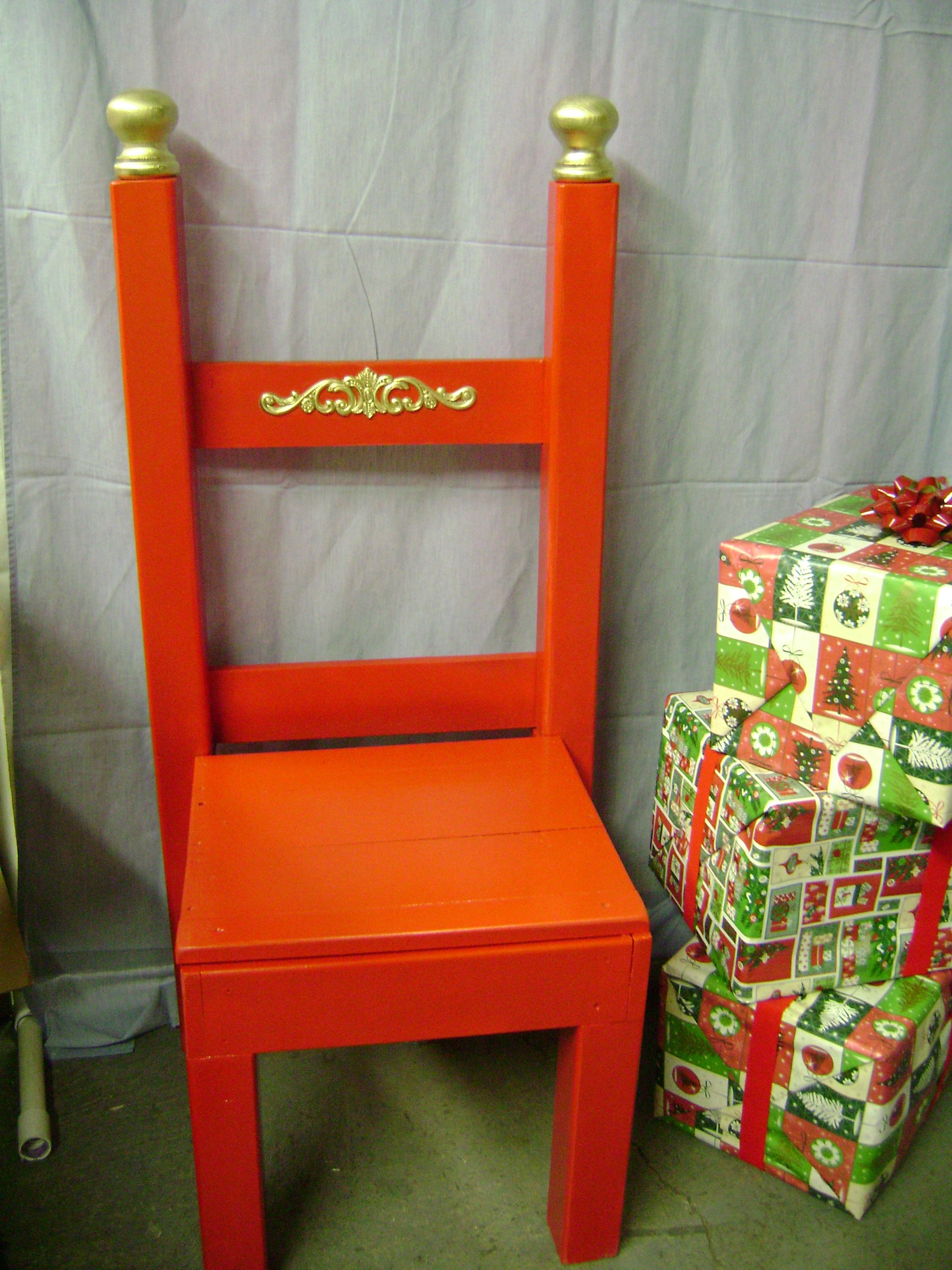 PROP - Santa Chair