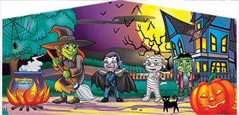 Banner - Happy Halloween #02