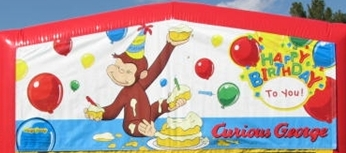 Banner - Curious George #01
