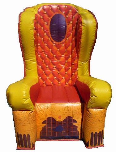 CHILD - Inflatable Throne #01