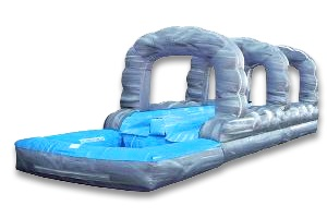 SLIDE W/O - 22 Ft Dbl SlipNSlide w/pool