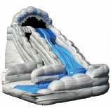 SLIDE W/O - 18 Ft Wild Rapids Water Slide