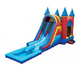 JUM - W/D - Castle Double Slide Pool Add On #1 +