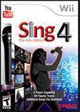 AV - Wii Game - Sing 4