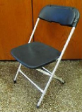 TTC - Folding Chairs Black