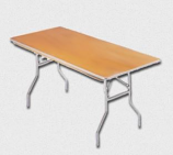 TTC - 6 Foot Banquet Table Wood