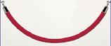 Stanchions - Red Velvet Rope - 5'