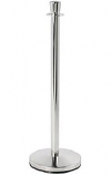 Stanchions - Chrome Base and Post