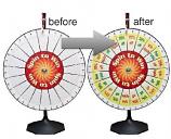PRIZE - Prize Wheel w/Pockets #2