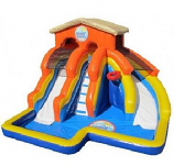 SLIDE - Splash Island Water Slide