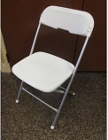TTC - Folding Chairs White