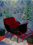 PROP - Santa Workshop Backdrop