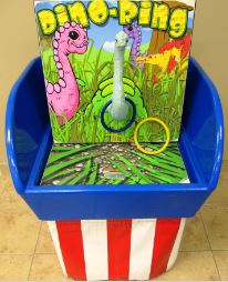 GAME - Bin - Dino Ring Toss