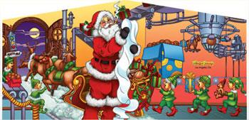 Banner - Santa #01