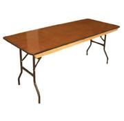 TTC - 8 Foot Banquet Table Wood