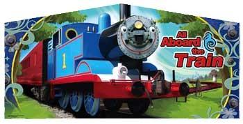 Banner - Blue Train Engine #1