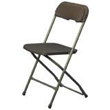 TTC - Folding Chairs Brown