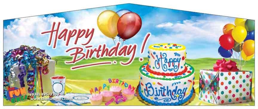Banner - Happy Birthday #01