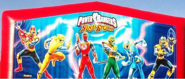 Banner - Power Rangers #01