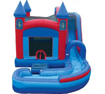 JUM - W/D - Castle Jump And Slide Water Add On #1