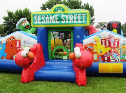 JUM - CHILD - Sesame St. Playground