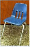 TTC - Kids Blue Stack Chair