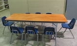 TTC - 6 Foot Kids Table, wood top