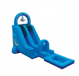 SLIDE - 18 Ft Plunge Express Water Add On