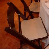 TTC - Folding Chairs Dark Wood Garden