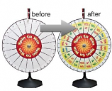 PRIZE - Prize Wheel w/Pockets #1