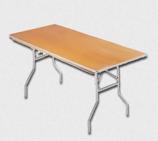 TTC - 6 Foot Banquet Table Wood