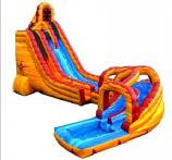 SLIDE - 27' Lava Twist Slide #01 +