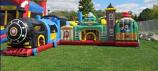 JUM - CHILD - Blue Train Playground+
